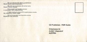 Отправка открытки за границу
